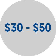Comprar online $30 - $50 para el dia del padre en Frecuento.com
