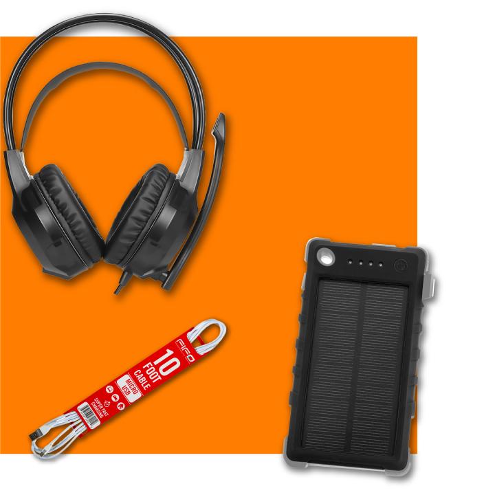 Comprar online accesorios de audio y video audifonos parlantes cables baterias para el regreso a clases en Frecuento.com