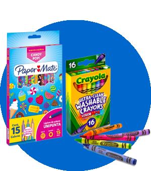 Comprar online crayones y lapices para el regreso a clases en Frecuento.com